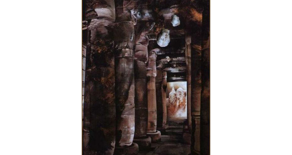 oil on canvas 250x200cm