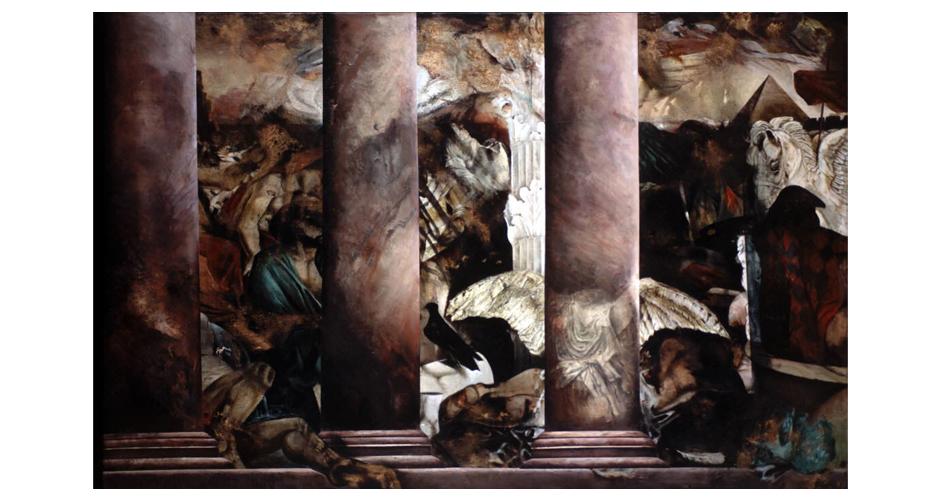 oil on canvas. 200x130cm
