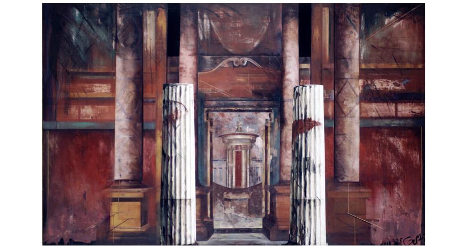 oil on canvas 200x130cm