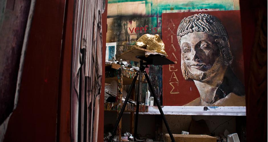 <ul> <li>material: tempera on canvas</li> <li>size: 125cm x 150cm</li> <li>year: 2012</li> </ul>