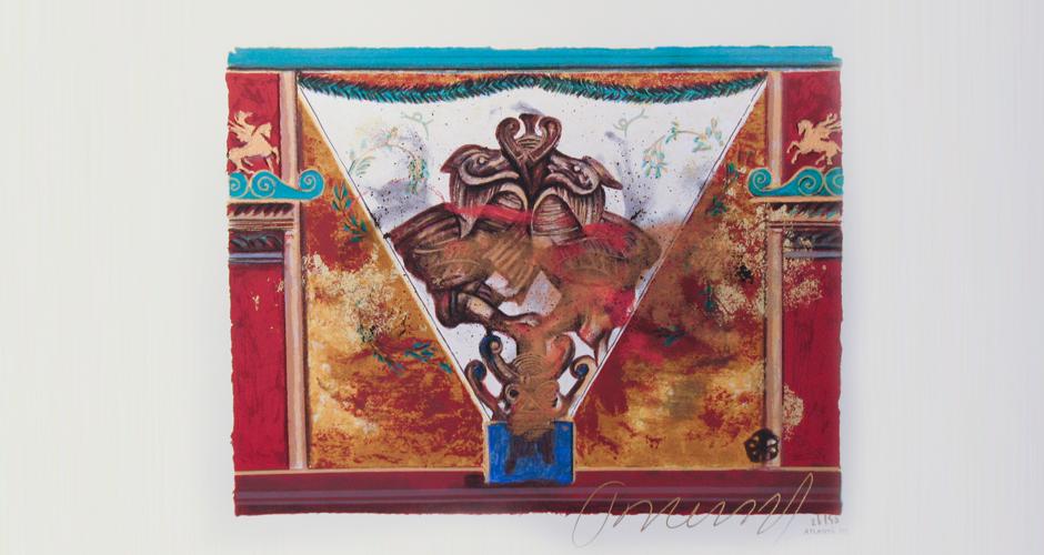 silkscreen 80x60cm