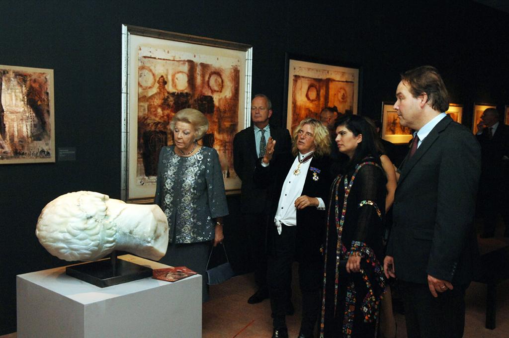 Opening Petra Wonder in de Woestijn 8 okt 2013_in zaal Petra Revisited (1)